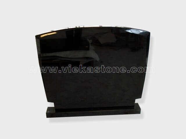 Black Granite Headstone (131)