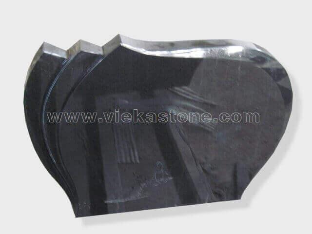 Black Granite Headstone (136)