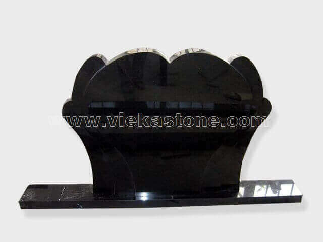 Black Granite Headstone (139)