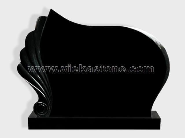 Black Granite Headstone (146)