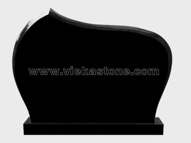 Black Granite Headstone (151)