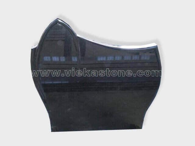 Black Granite Headstone (162)