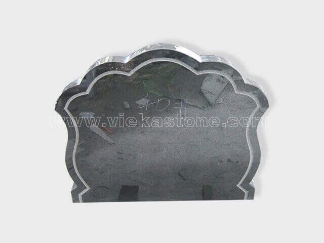 Black Granite Headstone (168)