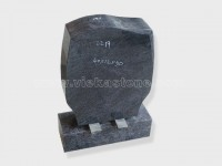 India Blue Granite Headstone (19)