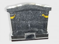 Blue Pearl Granite Headstone (29)