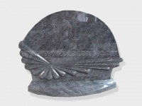 Bahama blue Granite Headstone (41)