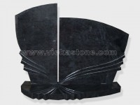 shanxi Black Granite Headstone (43)