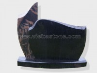 aurora shanxi black Granite Headstone (47)