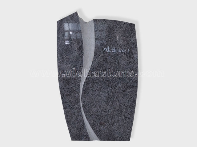 bahama blue Granite Headstone (6)