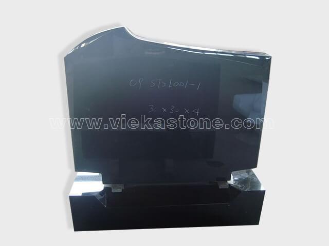 Shanxi Black Granite Headstone (61)