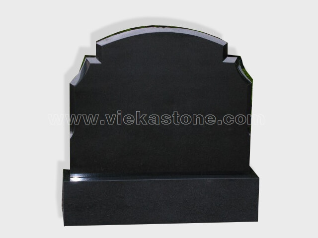Shanxi Black Granite Headstone (63)