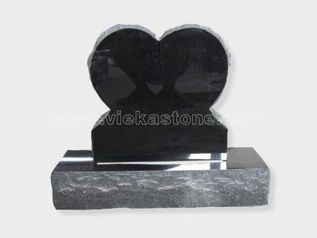 shanxi black Granite Headstone (70)