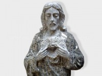 Jesus sculptured statue granite(2)