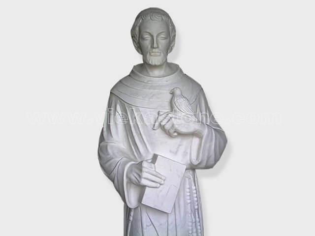Jesus sculptured statue marble(3)