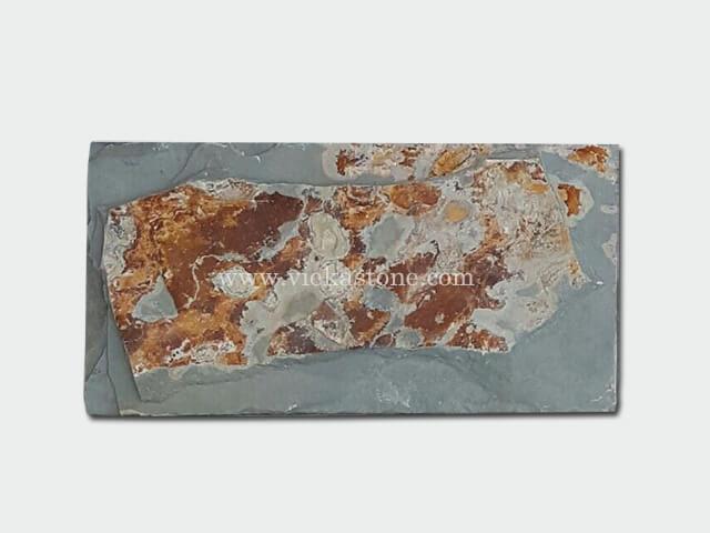 Multicolor Slate Mushroom Stone