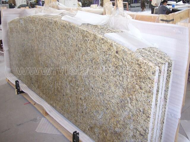 New venetian gold granite countertop (2)