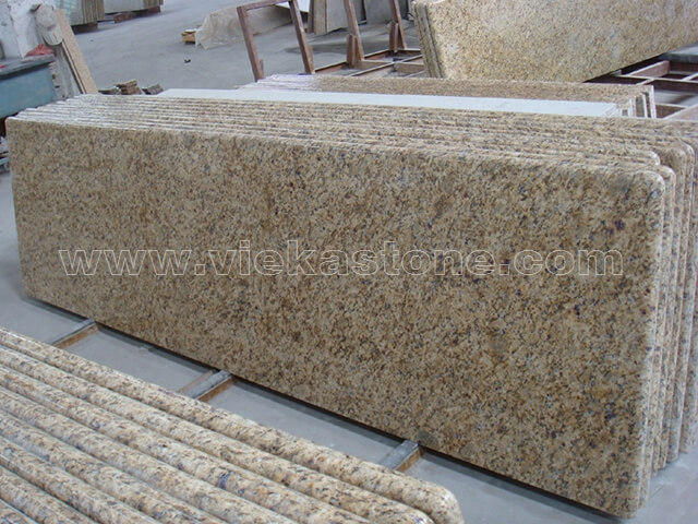 View Larger Image New Venetian Gold Granite Countertop (3)
