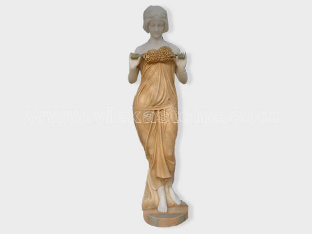 Sculptured Western Figure Statue marble(4)