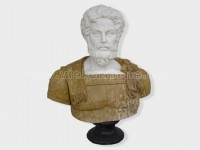 Sculptured Western Figure Statue Human head marble(5)