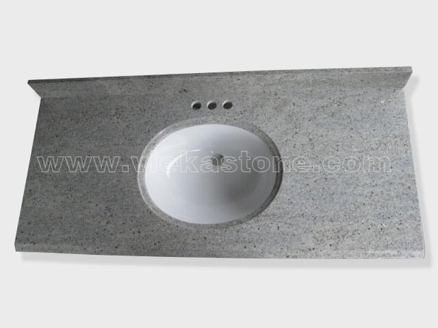 Viscount White granite countertop (1)