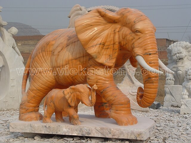 animals Garden Sculpture elephant (14)