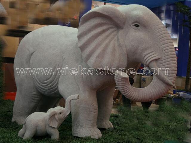 animals Garden Sculpture elephant(17)