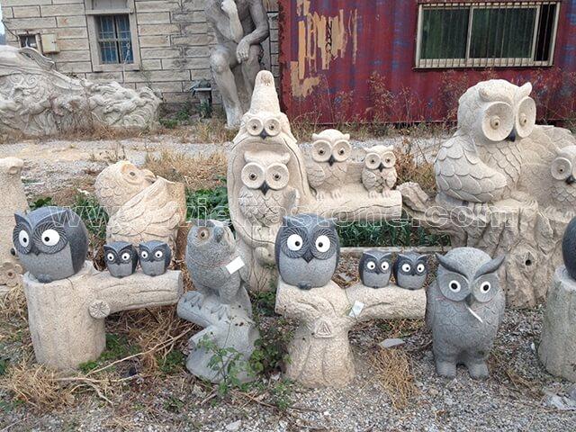 animals Garden Sculpture owl(20)