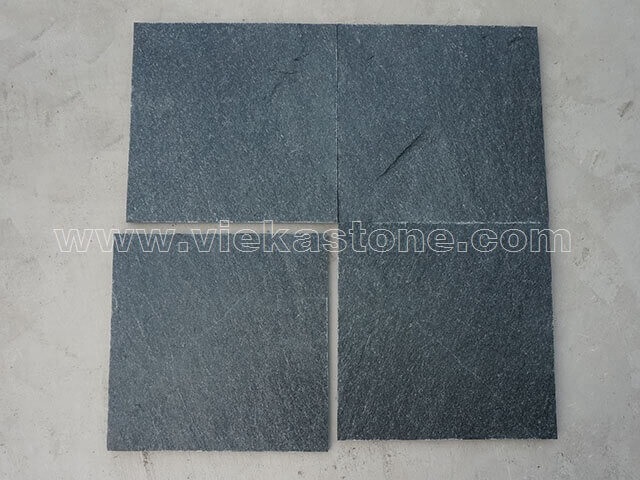 black quartzite tile 30x30cm (1)