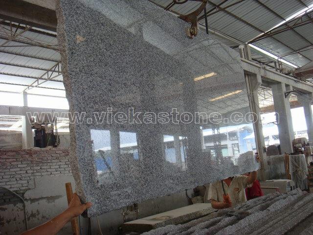 china G623 granite slab