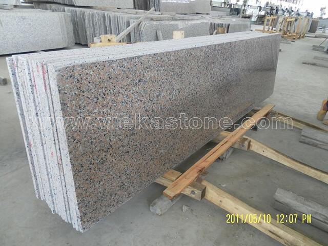 china sanbao red granite slab