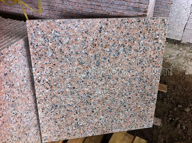 china sanbao red granite tile