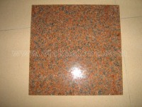 china tianshan red granite tile