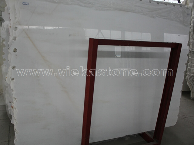 china white jade marble slab