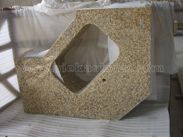 chrysanthemum yellow granite countertop (2)