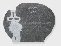 cross China nero impala granite tomb headstone (22)