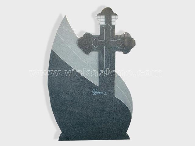 cross G654 granite tomb headstone (60)