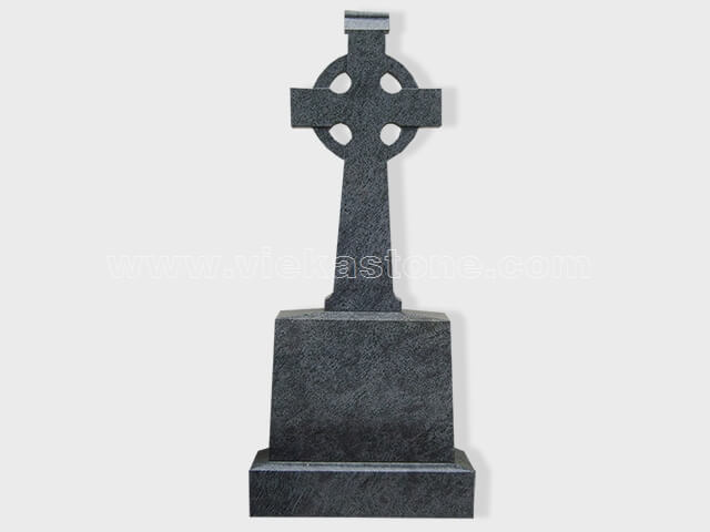 Cross Granite Tomb Headstone 009 Vieka Natural Culture