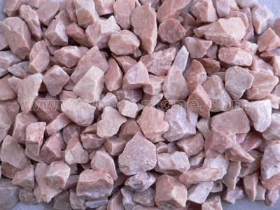 pink gravel