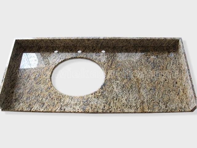 santa cecilia dark granite countertop (1)