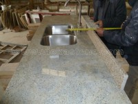 santa cecilia light granite countertop (1)