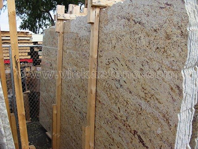 shivasaki yellow granite slab