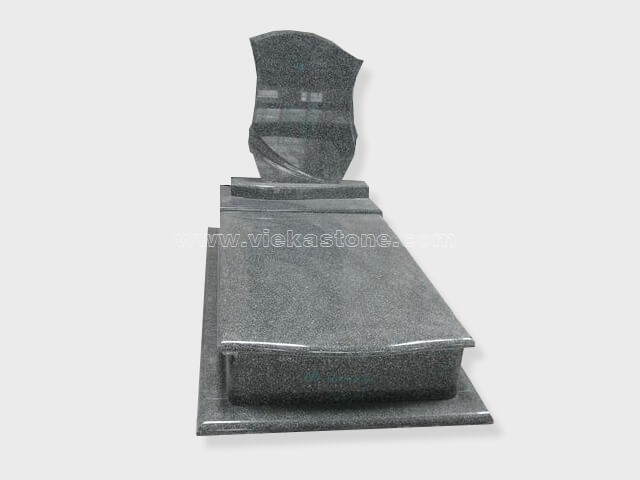 single G654 granite tombstone monument (16)