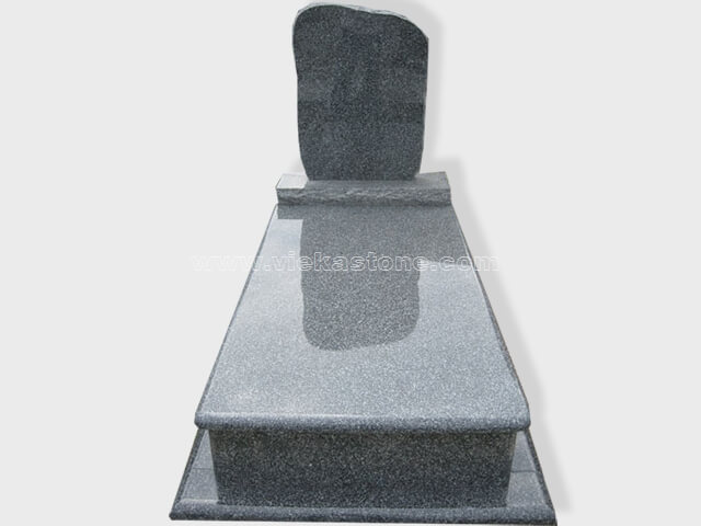 single G654 granite tombstone monument (21)