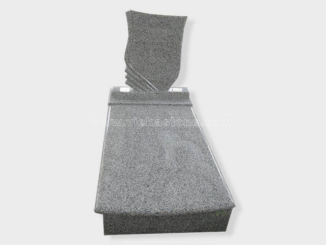 single G603 granite tombstone monument (25)