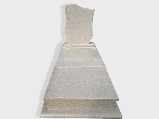 single G681 granite tombstone monument (29)