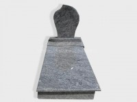 single bahama blue granite tombstone monument (7)