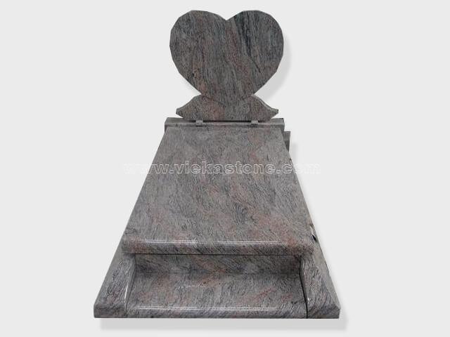 single paradiso granite tombstone monument (70)