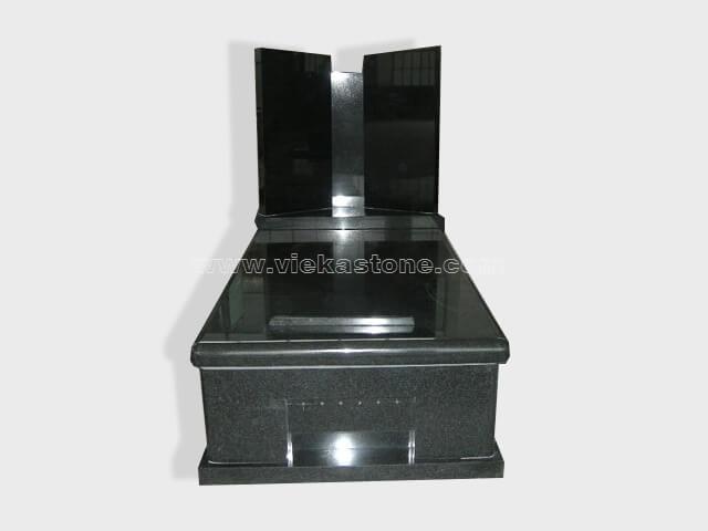 single G654 granite tombstone monument (87)