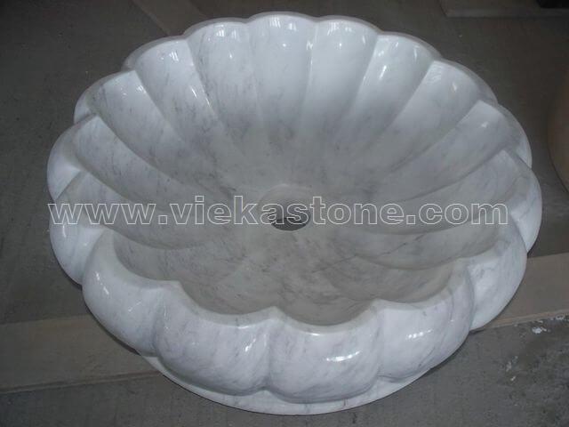 guangxi white marble sink stone (2)