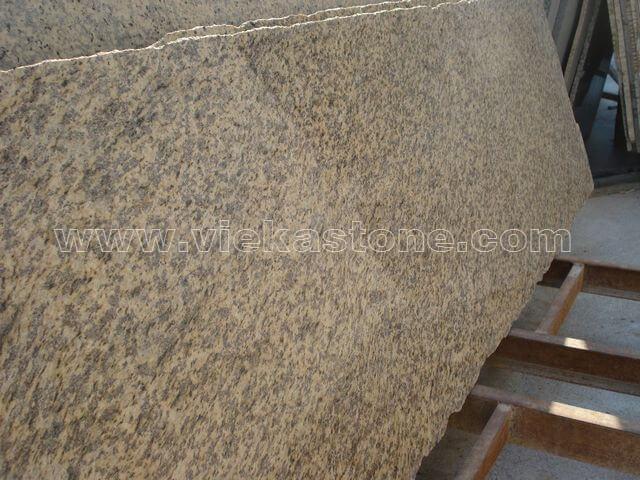 tiger skin yellow granite slab